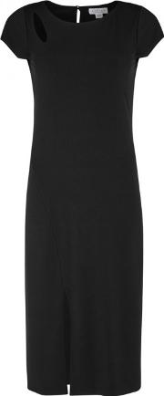 Meredith Black Cut Out Jersey Dress Size Xs