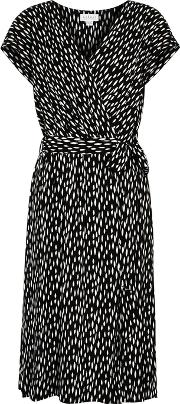 Tamar Printed Voile Midi Dress