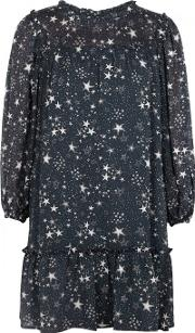 Tayo Star Print Georgette Dress Size M