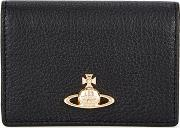 Balmoral Small Black Leather Card Holder