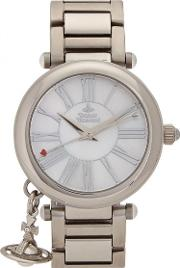 Mother Orb Silver Tone Watch