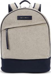 Kastrup 13 Faux Suede And Nylon Backpack
