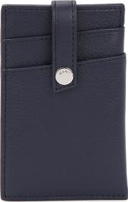 Kennedy Navy Leather Card Holder