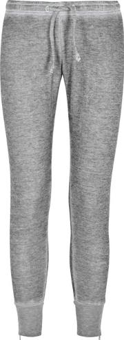 Fame Grey Fleece Jogging Trousers Size S
