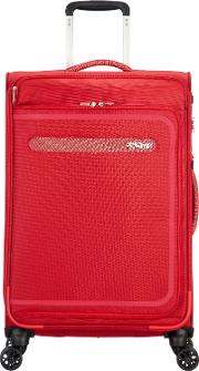 Airbeat 68cm Medium Red Suitcase, Red
