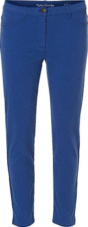 Cropped Jeans, Blue