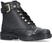 Son Ankle Boots, Black
