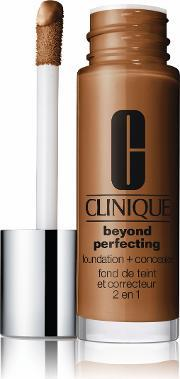 Beyond Perfecting 2 In 1 Foundation And Concealer, Clove