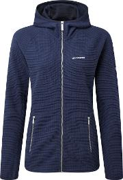 Hazelton Hooded Fleece Jacket, Blue