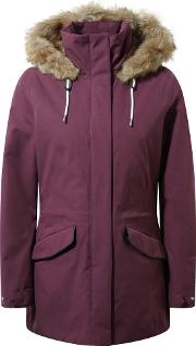 Josefine Insulating Waterproof Jacket, Red