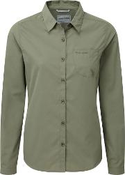 Kiwi Long Sleeved Uv Protection Shirt, Green