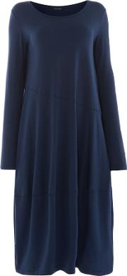 Dress With Seam Detail, Blue