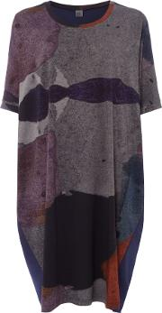 Mutli Abstract Print Tunic, Multi Coloured