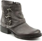 Magsy Barbed Chunky Ankle Boots, Grey