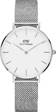 Classic Petite Sterling Watch, Silver