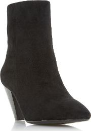 Perru Cone Heeled Ankle Boots
