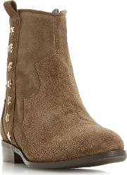 Picket Star Studded Western Ankle Boots