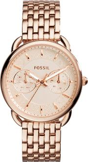 Es3713 Ladies Bracelet Watch, Rose Gold