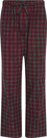 Men's  Small Tartan Poplin Pj Pant, Green