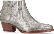 Ernest Ankle Boots, Gold