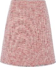 Textured A Line Skirt, Multi Coloured