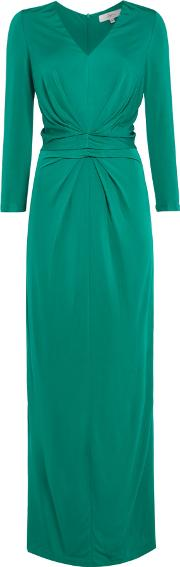 Issa Caitlin Maxi Dress, Green