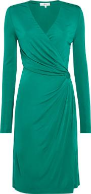 Maddie Plain Side Detail Dress, Green