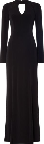 Marie Cut Out Maxi Dress, Black