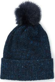 Harris Donegal Pom Hat, Blue