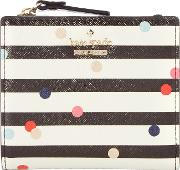 Cameron Street Small Stripe Zip Around Purse, Multi Coloured