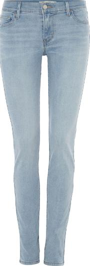 Levi's Innovation Super Skinny Jeans In California Surf, Denim Light Wash