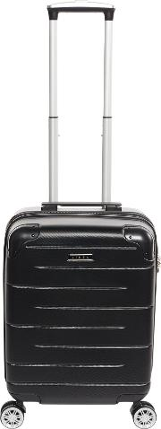 Vault Black Cabin Spinner Suitcase, Black