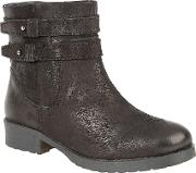 Heckle Ankle Boots, Black
