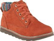 Sequoia Lace Up Ankle Boots, Rust