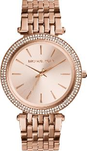 Mk3192 Ladies Bracelet Watch, Rose Gold