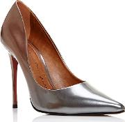 Cristina Court Shoes, Silverlic