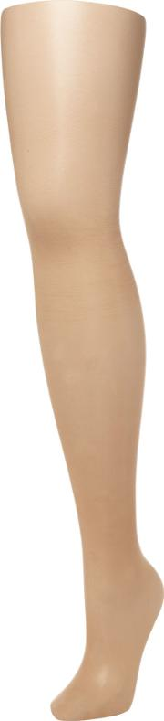 10 Denier Matte Tights, Caramel Tint
