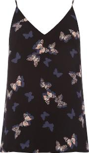 Butterfly Front And Back Cami, Multi Coloured