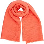 Paris Crinkle Scarf, Orange