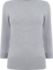 Textured Knit, Grey