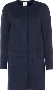 Ilia Quilted Overcoat, Blue