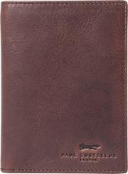Exton Leather Travel Wallet, Brown