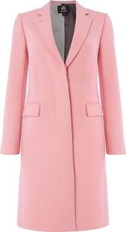 Epsom Wool Coat, Pink
