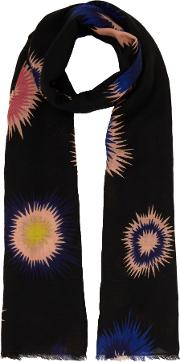 Pow Print Scarf, Multi Coloured