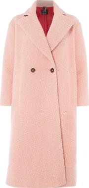 Teddy Bear Coat, Light Pink