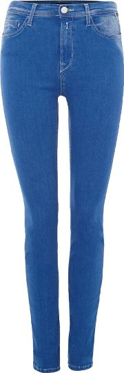 High Waisted Joi Jeggings, Blue