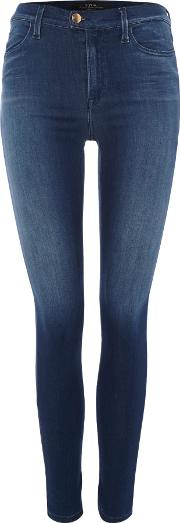 Super Skinny Fit Touch Jeans, Blue