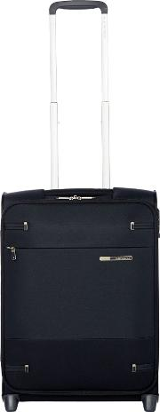 Base Boost Black 2 Wheel 55cm Cabin Suitcase, Black