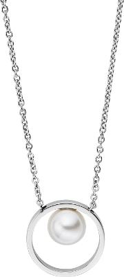 Skj0973040 Ladies Necklace, Silver