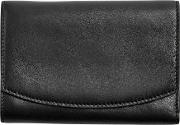 Sws0232001 Compact Flap Wallet, Black